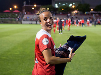 Boyds, MD - Saturday May 20, 2017: Mallory Pugh during a regular season National Women's Soccer League (NWSL) match between the Washington Spirit and FC Kansas City at Maureen Hendricks Field, Maryland SoccerPlex.