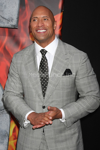 HOLLYWOOD, CA - MAY 26: Dwayne Johnson at the San Andreas film premiere at The TCL Chinese Theatre in Hollywood, California on May 26, 2015. Credit: David Edwards/MediaPunch