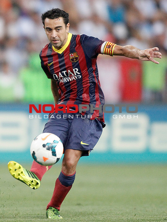 FC Barcelona's Xavi Hernandez during La Liga match.August 25,2013. Foto © nph / Acero)