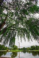 Washington Monument Washington DC Constitution Gardens