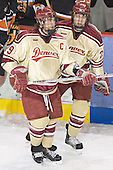 Gabe Gauthier, Patrick Mullen - The Princeton University Tigers defeated the University of Denver Pioneers 4-1 in their first game of the Denver Cup on Friday, December 30, 2005 at Magness Arena in Denver, CO.
