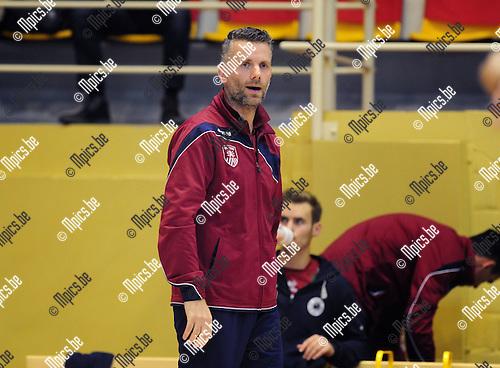 2014-10-29 / Volleybal / seizoen 2014-2015 / Topvolley Antwerpen - Asse-Lennik / Kris Tanghe<br /><br />Foto: mpics.be