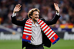 Ex player Diego Forlan of Atletico de Madrid during La Liga match between Atletico de Madrid and Real Madrid at Wanda Metropolitano Stadium{ in Madrid, Spain. {iptcmonthname} 28, 2019. (ALTERPHOTOS/A. Perez Meca)