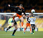 Paul Coutts of Sheffield Utd intercepts the ball during the English League One match at Vale Park Stadium, Port Vale. Picture date: April 14th 2017. Pic credit should read: Simon Bellis/Sportimage