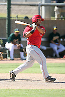 Jose Jimenez - Los Angeles Angels - 2010 Instructional League.Photo by:  Bill Mitchell/Four Seam Images..