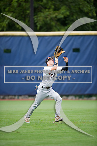 Seth Cunningham #19 during the Team One South Showcase presented by Baseball Factory at Chappell Park on July 14, 2012 in Atlanta, Georgia.  (Copyright Mike Janes Photography)