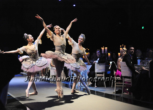 (Boston MA 02/04/17) Members of the Boston Ballet put on one of three performances, during Boston Ballet's Ball of Enchantment, Saturday, February 4, 2017, at The Castle at Park Plaza in Boston. Herald Photo by Jim Michaud