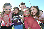 Megan Cullen, Rachel, Daniel, and Aisling Becker and Céire Nolan at the Fundraising BBQ in Termonfeckin National School...Photo NEWSFILE/Jenny Matthews.(Photo credit should read Jenny Matthews/NEWSFILE)....This Picture has been sent you under the condtions enclosed by:.Newsfile Ltd..The Studio,.Millmount Abbey,.Drogheda,.Co Meath..Ireland..Tel: +353(0)41-9871240.Fax: +353(0)41-9871260.GSM: +353(0)86-2500958.email: pictures@newsfile.ie.www.newsfile.ie.FTP: 193.120.102.198.