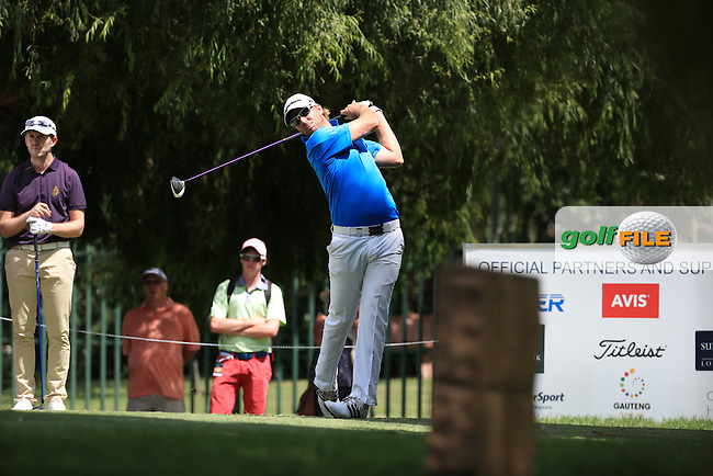 Lyle Rowe (RSA) in action during Round Three of the 2016 BMW SA Open hosted by City of Ekurhuleni, played at the Glendower Golf Club, Gauteng, Johannesburg, South Africa.  09/01/2016. Picture: Golffile | David Lloyd<br /> <br /> All photos usage must carry mandatory copyright credit (&copy; Golffile | David Lloyd)