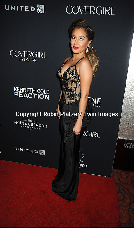 Adrienne Bailon attends the Vanidades Magazine  Icons of Style Gala on September 27, 2012 at the Mandarin Oriental Hotel in New York City.