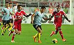Deportivo Pereira Derrotó 2-0 al América de Cali en el partido correspondiente a la fecha 18 del Torneo Clausura 2014, desarrollado el 09 de noviembre.