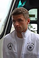 Thomas Müller (Deutschland Germany) - 04.10.2017: Deutschland Teamankunft, Stormont Hotel Belfast