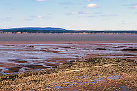 "UNESCO World Heritage Site - Fossil Beach and Bay of Fundy Tidal Mud Flats at ""Joggins Fossil Cliffs"", Joggins, NS, Nova Scotia, Canada - Fundy Shore & Annapolis Valley Region"