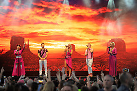LONDON, ENGLAND - JULY 10: Lisa Scott-Lee, Lee Latchford-Evans, Faye Tozer , Ian &quot;H&quot; Watkins and Claire Richards of 'Steps' performing at Kew the Music, Kew Gardens on July 10, 2018 in London, England.<br /> CAP/MAR<br /> &copy;MAR/Capital Pictures