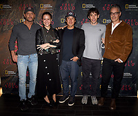 "WEST HOLLYWOOD - NOVEMBER 11: Tim McGraw, Elizabeth Chai Vasarhelyi, Jimmy Chin, Alex Honnold, and Marco Beltrami attend a screening of National Geographic's ""Free Solo"" at Pacific Design Center on November 11, 2018 in West Hollywood, California. (Photo by Frank Micelotta/National Geographic/PictureGroup)"