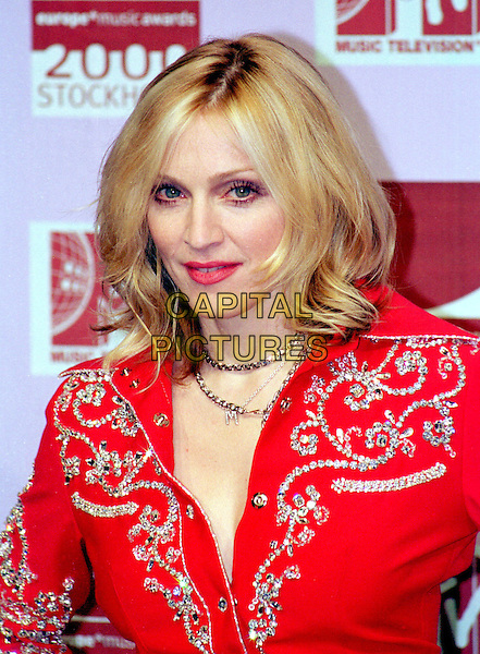 MADONNA.MTV Awards.Ref: PL.headshot, portrait, studded.www.capitalpictures.com.sales@capitalpictures.com.©Capital Pictures