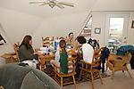 Earthwatchers In Kitchen - Melissa, Jemima & Katie