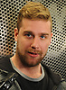 Calvin de Haan speaks with the media after New York Islanders player exit interviews with management at Northwell Health Ice Center in East Meadow on Monday, April 9, 2018.