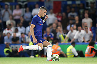 Ross Barkley scores for Chelsea in the penalty shoot out during Chelsea vs Lyon, International Champions Cup Football at Stamford Bridge on 7th August 2018