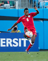 CHARLOTTE, NORTH CAROLINA - July 15, 2015: The 2015 Concacaf Gold Cup Cuba vs Guatemala at Bank of America Stadium.  Final score Cuba 1 Guatemala 0.