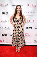 LOS ANGELES - JUN 23:  Heather McComb at the BELLA Los Angeles Summer Issue Cover Launch Party at the Sofitel Hotel on June 23, 2017 in Los Angeles, CA