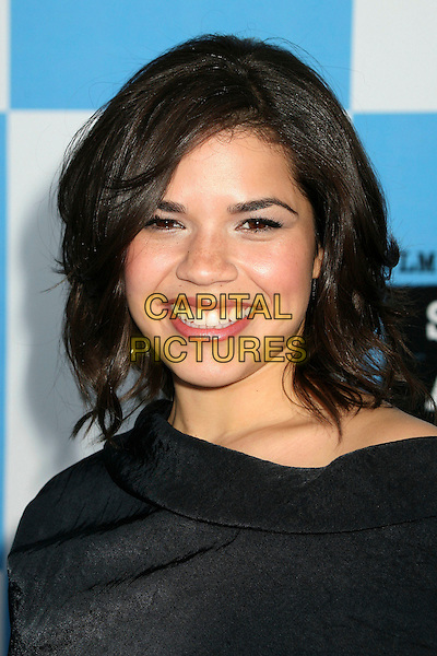 AMERICA FERRERA.2007 Film Independent's Spirit Awards at the Santa Monica Pier, Santa Monica, California, USA,.24 February 2007..portrait headshot.CAP/ADM/BP.©Byron Purvis/AdMedia/Capital Pictures.