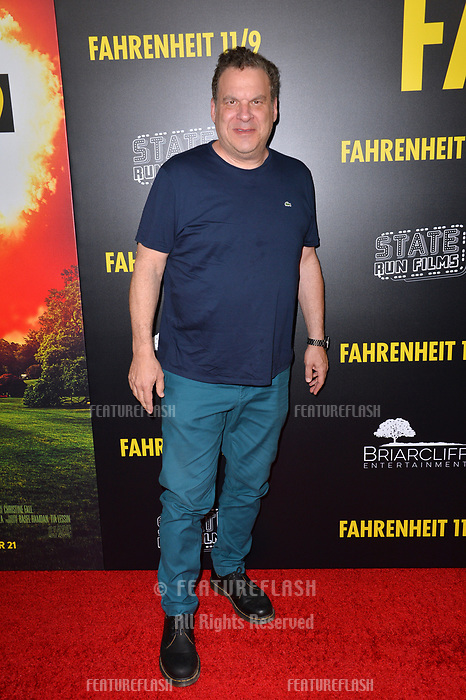 """LOS ANGELES, CA. September 19, 2018: Jeff Garlin at the Los Angeles premiere for Michael Moore's """"Fahrenheit 11/9"""" at the Samuel Goldwyn Theatre.<br /> Picture: Paul Smith/Featureflash"""