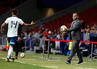 Venezuela's coach Rafael Dudamel  during the International Friendly match on 22th March, 2019 in Madrid, Spain. (ALTERPHOTOS/Manu R.B.)<br /> Madrid 22-03-2019 <br /> Football Friendly Match <br /> Argentina Vs Venezuela <br /> foto Alterphotos/Insidefoto <br /> ITALY ONLY