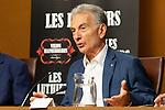 Jorge Maronna during the press conference of Les Luthiers, Viejos Hazmerreires. September 16, 2019. (ALTERPHOTOS/Johana Hernandez)