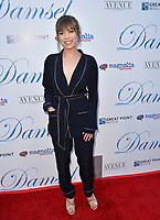 """Jennette McCurdy at the premiere for """"Damsel"""" at the Arclight Hollywood, Los Angeles, USA 13 June 2018<br /> Picture: Paul Smith/Featureflash/SilverHub 0208 004 5359 sales@silverhubmedia.com"""