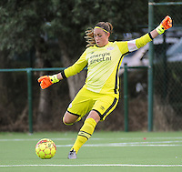 20160824 - GENT , BELGIUM : PSV Eindhoven's Angela Christ  pictured during a friendly game between KAA Gent Ladies and PSV Eindhoven during the preparations for the 2016-2017 season , Wednesday 24 August 2016 ,  PHOTO Dirk Vuylsteke   Sportpix.Be