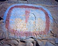 "The ""TV Screen"", Range Creek Wildlife Management Area, Utah   Ancient Fremont Culture pictograph"