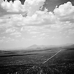 A view of the Arizona desert from Kitt Peak, on Wednesday, July 16, 2008 in Kitt Peak, AZ.