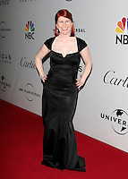 US actress Angela Kinsey arrives at the NBC/Universal Pictures/Focus Features Golden Globes after party at the Beverly Hilton Hotel, Beverly Hills, California, USA, on January 11, 2009.  The Golden Globes honour excellence in film and television.