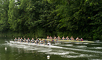 Henley-on-Thames. United Kingdom.  Heat of the Princess Elizabeth Challenge Cup, Oxon, Kings School Chester and Winchester College.  2017 Henley Royal Regatta, Henley Reach, River Thames. <br /> <br /> 08:10:52  Wednesday  28/06/2017   <br /> <br /> [Mandatory Credit. Peter SPURRIER/Intersport Images.