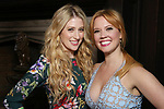 Caissie Levy and Patti Murin attend the press day for 'Frozen' The Broadway Musical on February 13, 2018 at the Highline Hotel in New York City.