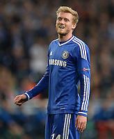 FUSSBALL   CHAMPIONS LEAGUE   SAISON 2013/2014   GRUPPENPHASE FC Schalke 04 - FC Chelsea        22.10.2013 Andre Schuerrle (FC Chelsea)