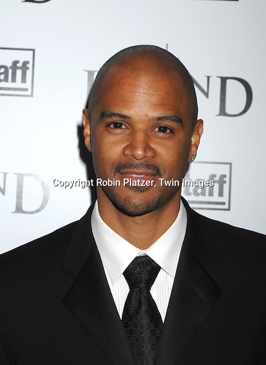 "Dondre Whitfield.arriving at The New York Premiere of""I Am Legend"" on .December 11, 2007 at The Theatre at Madison Square Garden. The movie stars Will Smith. .Robin Platzer, Twin Images"