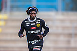 S&ouml;dert&auml;lje 2013-10-06 Fotboll Allsvenskan Syrianska FC - IF Elfsborg :  <br /> Elfsborg 18 Mohamed Bangura <br /> (Foto: Kenta J&ouml;nsson) Nyckelord:  portr&auml;tt portrait