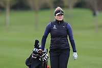 Anna Wallin (SWE) on the 14th fairway during Round 1 of the Irish Girls U18 Open Stroke Play Championship at Roganstown Golf &amp; Country Club, Dublin, Ireland. 05/04/19 <br /> Picture:  Thos Caffrey / www.golffile.ie