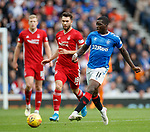 28.09.2018 Rangers v Aberdeen: Sheyi Ojo and Connor McLennan