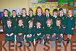 Scartaglen NS junior infants in their second week of school life on Tuesday front row l-r: Katie Kerins, Mikaela Buckley, Ma?ire Daly, Rachel Griffin, Tara Kerin, Caitlin Steele. Back row: Christine Begley, Sea?n McCarthy, Luke McShane, Gavin McEnery, Shauna McCarthy, Charlie O'Keeffe, Aidan Young, Jack O'Donoghue and Mollie O'Mahony..