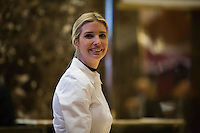 Ivanka Trump, daughter of President elect of the United States, Donald Trump is seen inside the lobby of Trump Tower in Manhattan, New York, U.S., on Friday, November 18, 2016. <br /> Credit: John Taggart / Pool via CNP /MediaPunch