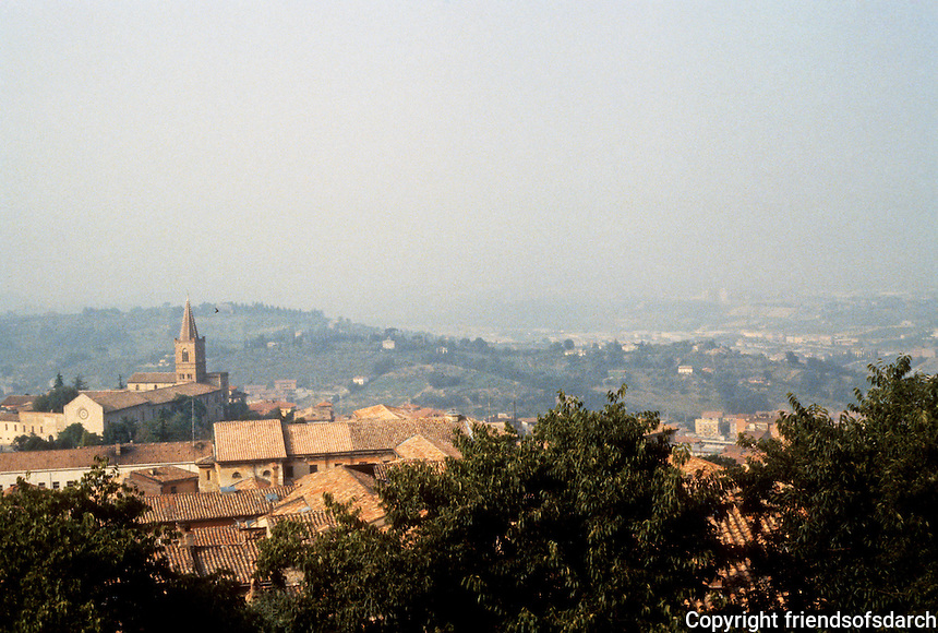 Italy: Perugia--Lower City, San Pietro Quarter. Photo '83.