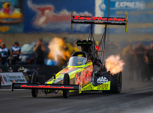 NHRA Mello Yello Drag Racing Series<br /> Dodge NHRA Nationals<br /> Maple Grove Raceway<br /> Reading, PA USA<br /> Friday 22 September 2017 Richie Crampton, SealMaster, top fuel dragster<br /> <br /> World Copyright: Mark Rebilas<br /> Rebilas Photo