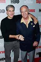 NEW YORK, NY - JANUARY 9: Michael Imperioli and Tony Sirico  at &ldquo;The Sopranos&quot; 20th Anniversary Panel Discussion at SVA Theater on January 9, 2019 in New York City. <br /> CAP/MPI99<br /> &copy;MPI99/Capital Pictures