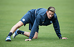 FK Trakai v St Johnstone…05.07.17… Europa League 1st Qualifying Round 2nd Leg<br />St Johnstone training at the LFF Stadium in Vilnius, Lithuania….Pictured Scott Tanser during the training session<br />Picture by Graeme Hart.<br />Copyright Perthshire Picture Agency<br />Tel: 01738 623350  Mobile: 07990 594431