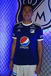 Presentación de la camiseta de Millonarios para la temporada 2018.