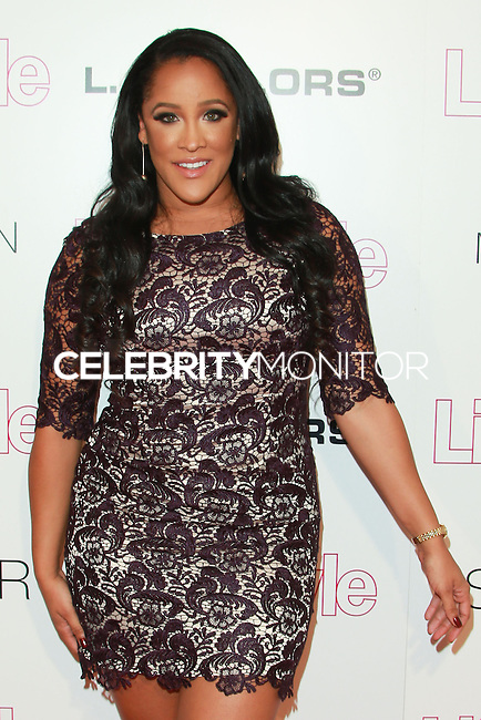 WEST HOLLYWOOD, CA, USA - OCTOBER 23: Natalie Nunn arrives at the Life & Style Weekly 10 Year Anniversary Party held at SkyBar at the Mondrian Los Angeles on October 23, 2014 in West Hollywood, California, United States. (Photo by David Acosta/Celebrity Monitor)