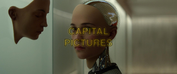 Alicia Vikander <br /> in Ex Machina (2015)<br /> *Filmstill - Editorial Use Only*<br /> CAP/NFS<br /> Image supplied by Capital Pictures
